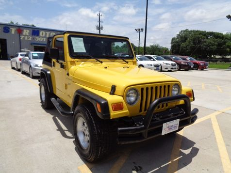 2002 Jeep Wrangler Sport in Houston