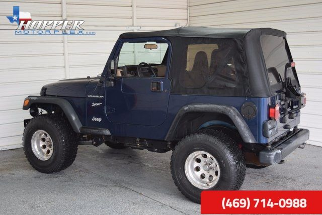 2002 Jeep Wrangler Sport in McKinney, Texas 75070