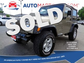 2002 Jeep Wrangler X in Nashville, Tennessee 37211