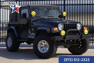 2002 Jeep Wrangler Sahara Clean Carfax Only 44K in Plano Texas, 75093