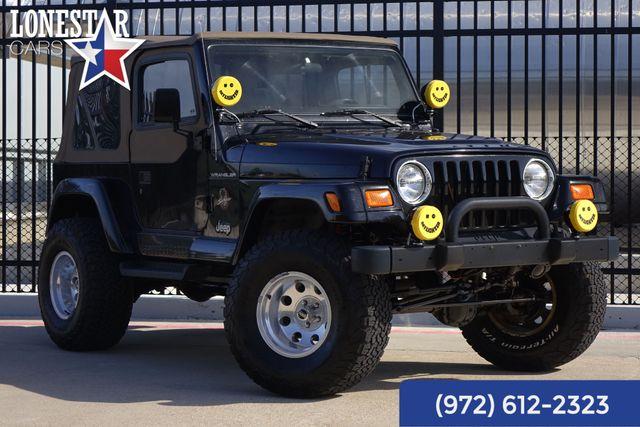 2002 Jeep Wrangler Sahara Clean Carfax Only 44K