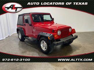 2002 Jeep Wrangler X in Plano, TX 75093