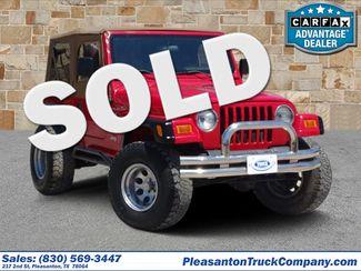 2002 Jeep Wrangler X   Pleasanton, TX   Pleasanton Truck Company in Pleasanton TX