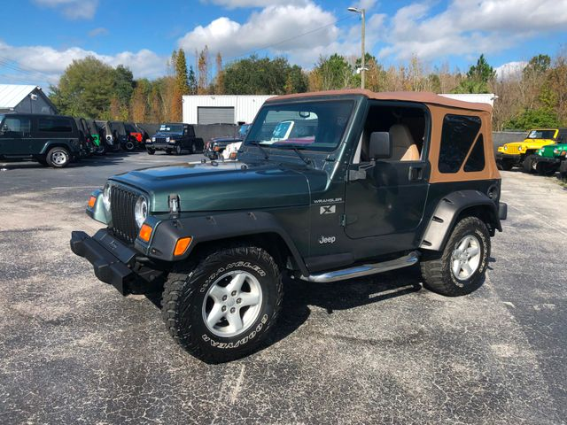 2002 Jeep Wrangler X Riverview, Florida 1