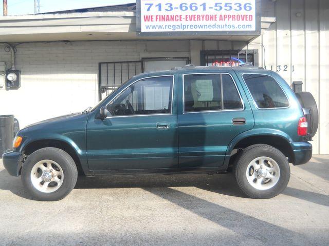 2002 Kia Sportage in Houston, Texas 77025