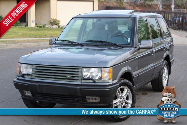 2002 Land Rover RANGE ROVER HSE LUXURY 1-OWNER NEW TIRES SERVICE RECORDS