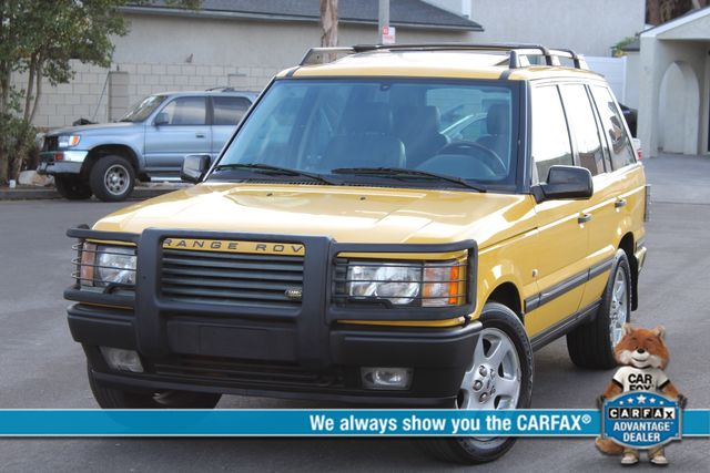 2002 Land Rover RANGE ROVER SPORT HSE RARE YELLOW ALL ORIGINAL SERVICE RECORDS