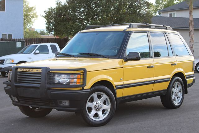 2002 Land Rover RANGE ROVER SPORT HSE RARE YELLOW ALL ORIGINAL SERVICE RECORDS in Van Nuys, CA 91406