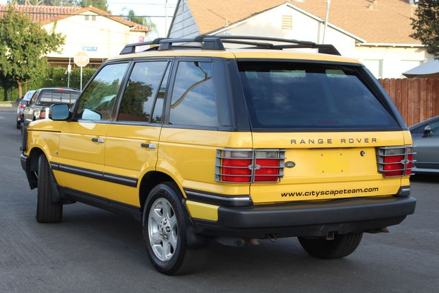 2002 Land Rover RANGE ROVER SPORT HSE RARE YELLOW ALL ORIGINAL SERVICE RECORDS in Woodland Hills CA, 91367