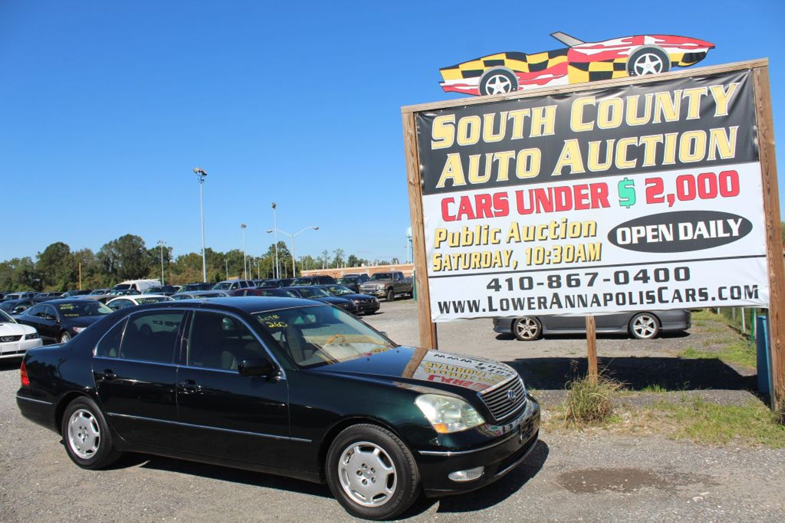 2002 Lexus Ls 430 City Md South County Public Auto Auction 2001 Hyundai Sonata Wiring Harness Srs In Harwood