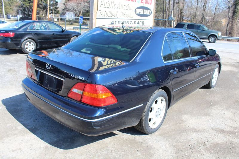 2002 Lexus LS 430 430  city MD  South County Public Auto Auction  in Harwood, MD