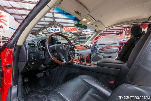2002 Lexus SC 430 in Addison Texas, 75001