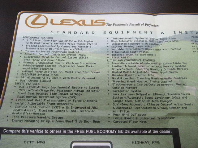 2002 Lexus SC 430 Austin , Texas 36