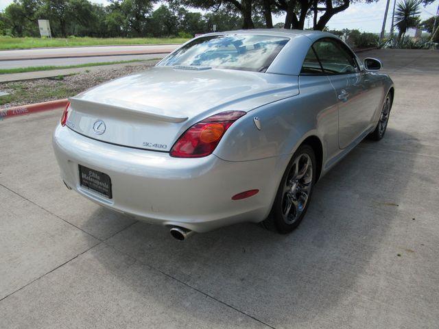 2002 Lexus SC 430 Austin , Texas 4