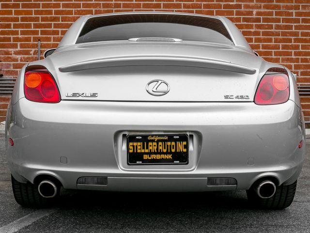 2002 Lexus SC 430 Burbank, CA 4