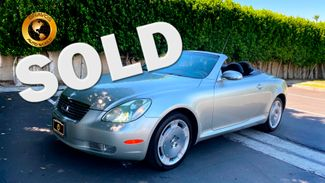 2002 Lexus SC 430 in cathedral city, California