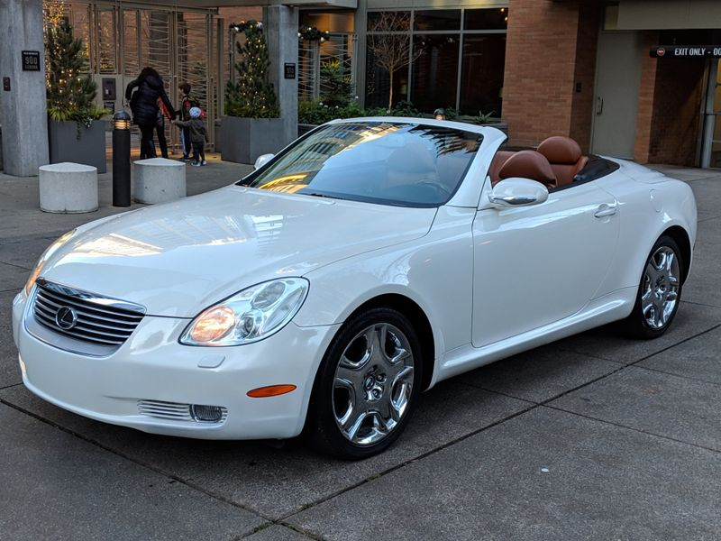 2002 Lexus SC 430 Convertible 78000 Original Miles Local History You Must See  Drive to Appreciate  city Washington  Complete Automotive  in Seattle, Washington