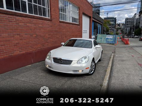 2002 Lexus SC 430 Convertible 78,000 Original Miles Local History You Must See & Drive to Appreciate! in Seattle