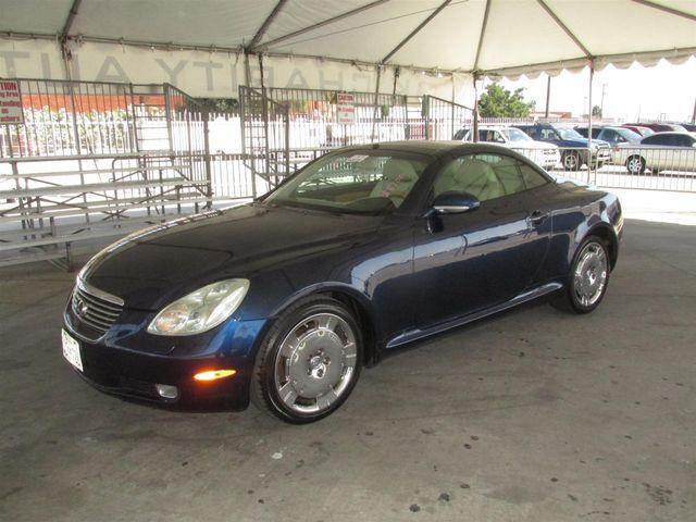 2002 Lexus SC 430 Gardena, California