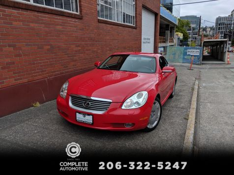 2002 Lexus SC 430 Convertible 61,000 Original Miles  Local History You Must See & Drive to Appreciate!  in Seattle