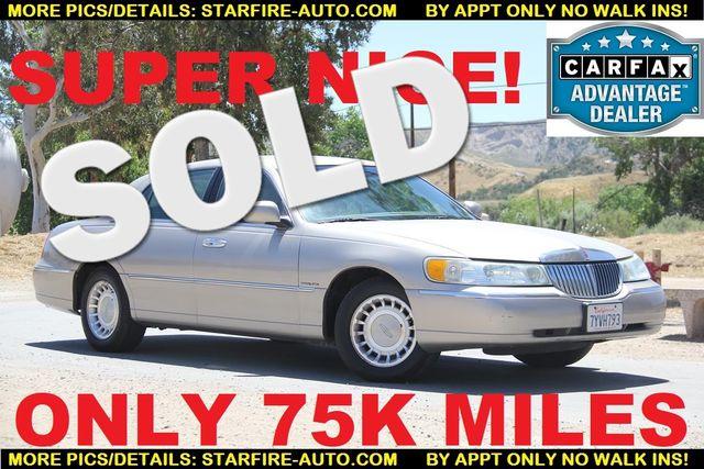 2002 Lincoln Town Car Executive Santa Clarita, CA 0