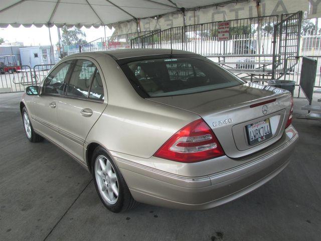 2002 Mercedes-Benz C240 Gardena, California 1