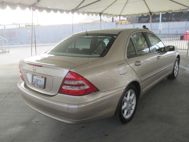2002 Mercedes-Benz C240 Gardena, California 2