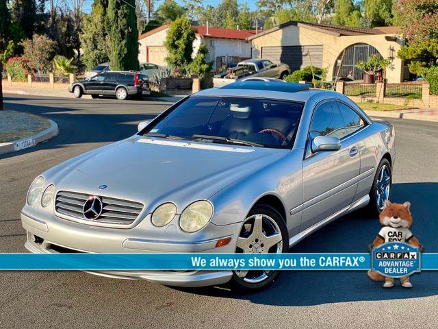 2002 Mercedes-Benz CL500 88K MLS NAVIGATION NEW TIRES SERVICE RECORDS