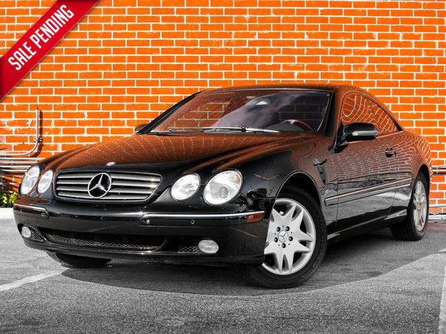 2002 Mercedes-Benz CL500 Burbank, CA 0