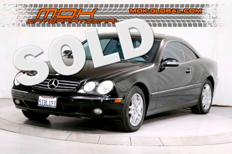 2002 Mercedes-Benz CL500 - Heated / cooled seats - BOSE Sound - Xenon -  in Los Angeles
