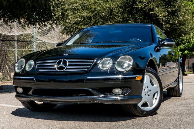2002 Mercedes-Benz CL500 Reseda, CA 2
