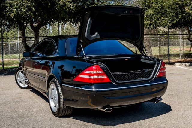 2002 Mercedes-Benz CL500 Reseda, CA 10