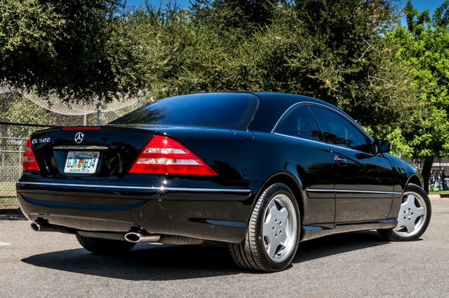 2002 Mercedes-Benz CL500 Reseda, CA 9