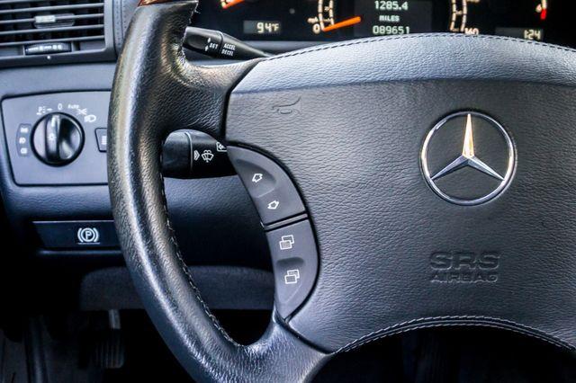2002 Mercedes-Benz CL500 Reseda, CA 19