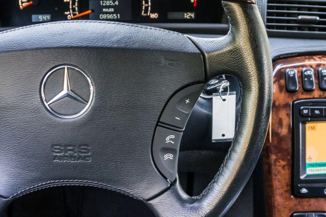 2002 Mercedes-Benz CL500 Reseda, CA 20