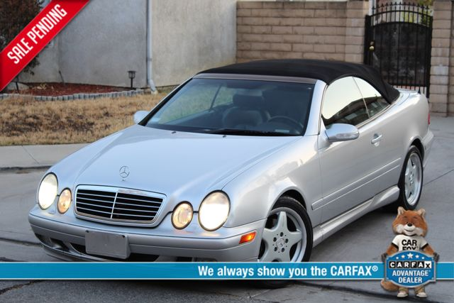 2002 Mercedes-Benz CLK320 CONVERTIBLE AUTOMATIC ONE OWNER SERVICE RECORDS