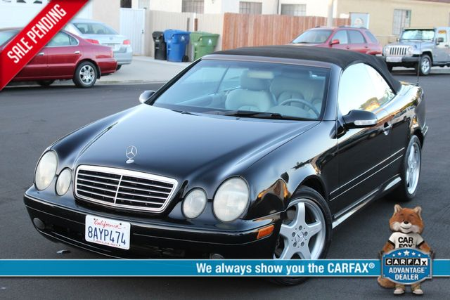 2002 Mercedes-Benz CLK430 CONVERTIBLE SERVICE RECORDS