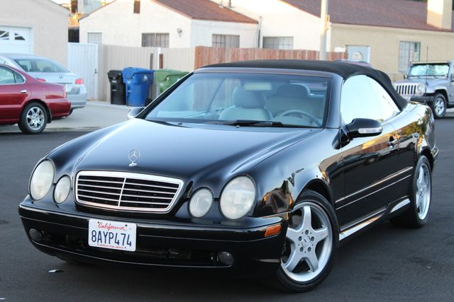 2002 Mercedes-Benz CLK430 CONVERTIBLE SERVICE RECORDS in Van Nuys, CA 91406