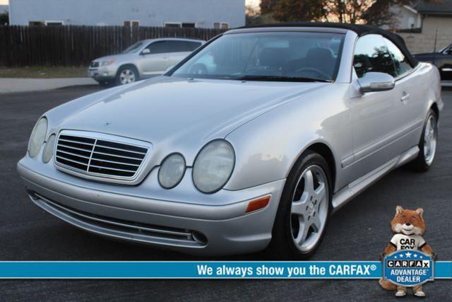 2002 Mercedes-Benz CLK430 CONVERTIBLE AUTOMATIC SERVICE RECORDS in Woodland Hills, CA 91367