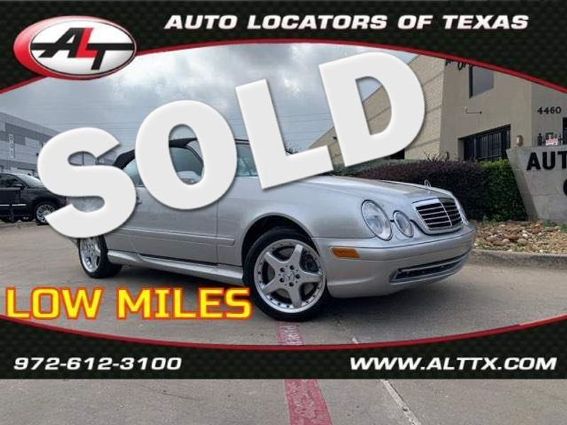2002 Mercedes-Benz CLK55 AMG   Plano, TX   Consign My Vehicle in Plano TX