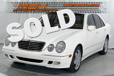 2002 Mercedes-Benz E430 - ONLY 56K miles - 1 owner in Los Angeles