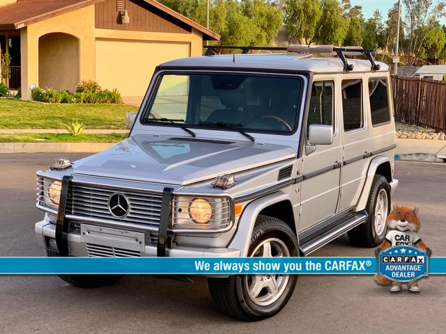 2002 Mercedes-Benz G500 NAVIGATION AUTOMATIC NEW TIRES SUNROOF SERVICE RECORDS