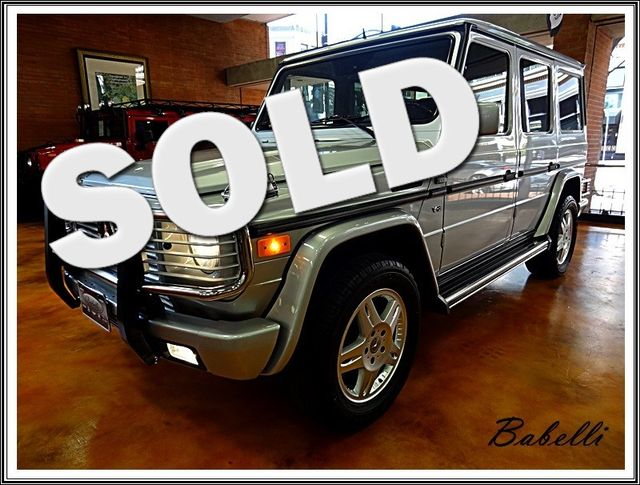 2002 Mercedes-Benz G500 La Jolla, California