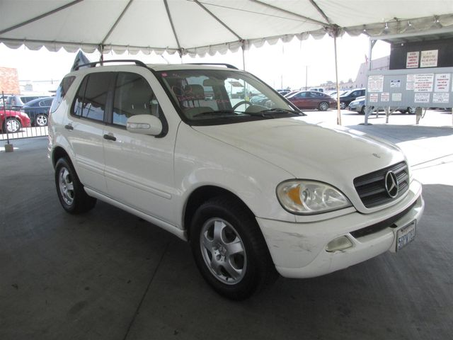 2002 Mercedes-Benz ML320 Gardena, California 3