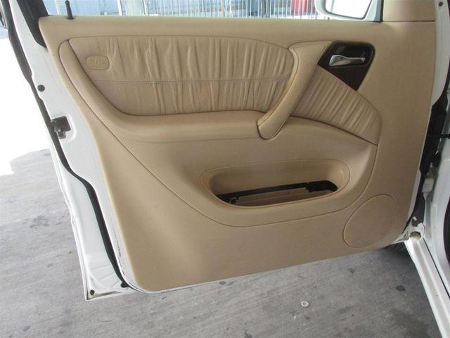 2002 Mercedes-Benz ML320 Gardena, California 9