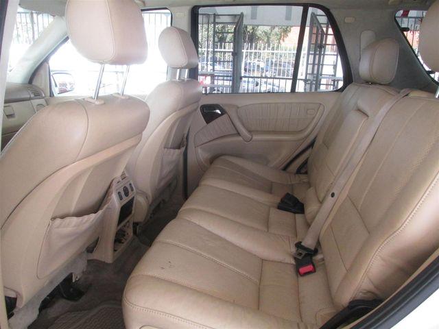 2002 Mercedes-Benz ML320 Gardena, California 10
