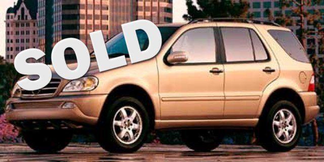 2002 Mercedes-Benz ML500 4DR AWD