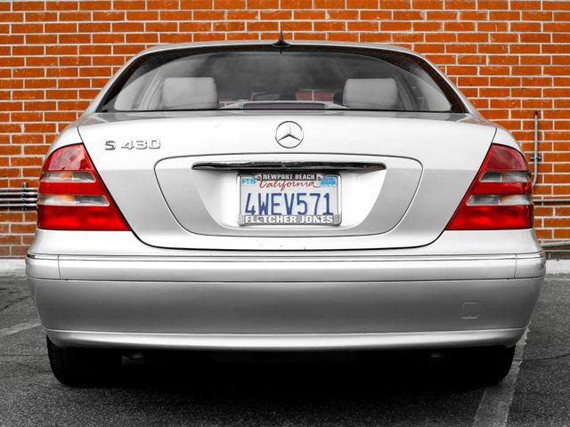 2002 Mercedes-Benz S430 4.3L Burbank, CA 3