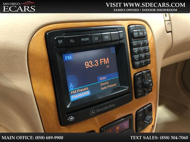 2002 Mercedes-Benz S430 4.3L in San Diego, CA 92126