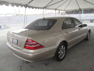 2002 Mercedes-Benz S500 5.0L Gardena, California 2